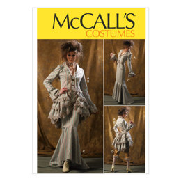 McCall's Misses' Jacket, Bustle/Capelet, Skirt and Pants M6770 - Sewing Pattern