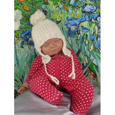 Baby Bobble Superfast Trapper Hat Knitting pattern by ...
