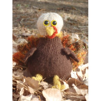 Tom the Turkey knit flat