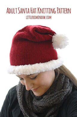 35534a401 Adult Santa Hat. $5.00. off. Downloadable pattern
