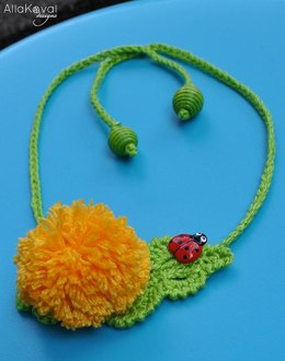 Garden Party. DANDELION Pin Headband