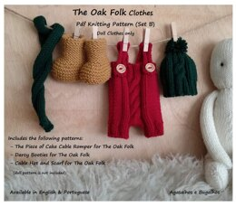 Clothes for The Oak Folk Set B