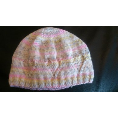 Toddlers Heart Hat