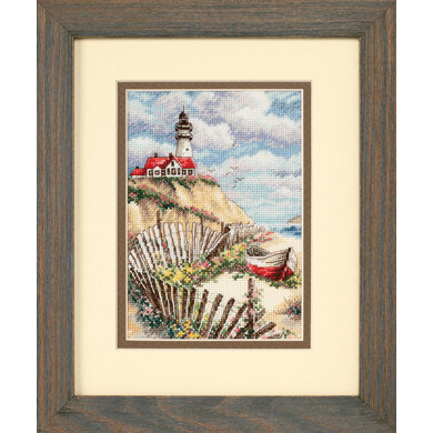 Dimensions Cliffside Beacon Cross Stitch Kit - 13cm x 18cm