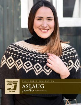 12c5aa84b Aslaug Poncho in Juniper Moon Farm Dromedary - J72-01 - Downloadable PDF