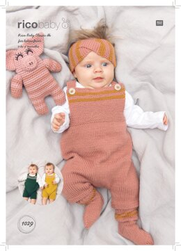 Baby's Headwear and Socks in Rico Baby Classic DK - 1029 - Downloadable PDF