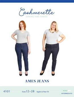 Cashmerette Ames Jeans 4101 - Sewing Pattern