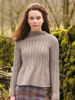 Rydal Sweater in Rowan British Sheep Breeds DK Undyed