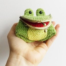 Freddie The Frog Coin Purse