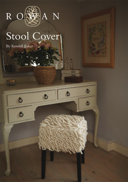 Stool Cover in Rowan Creative Focus Worsted