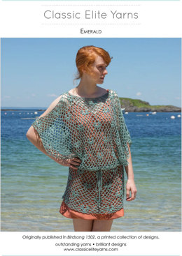 Emerald Tunic in Classic Elite Yarns Firefly - Downloadable PDF