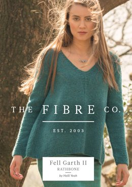 Rathbone Jumper in The Fibre Co. Arranmore Light - Downloadable PDF