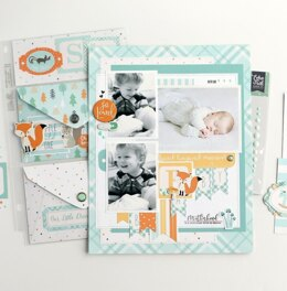 "Echo Park Paper Echo Park Collection Kit 12""X12"" - Hello Baby Boy"