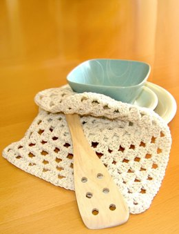 Granny Dishcloth in Bernat Handicrafter Cotton Solids