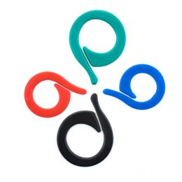 Pony Flat Ring Stitch Markers