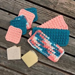 Cobblestone Washcloth Set