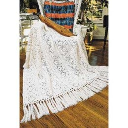 Irish Lace Blanket in Patons Canadiana
