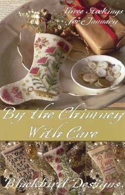 Blackbird Designs By The Chimney With Care Stockings - BD140 - Leaflet