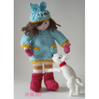 Bunnie & Wilf Doll & Dog
