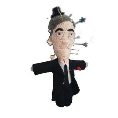 Jacob Rees-Mogg Voodoo Doll Crochet Pattern