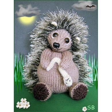Halen The Hedgehog Knitting Pattern By Phoenixknits Knitting
