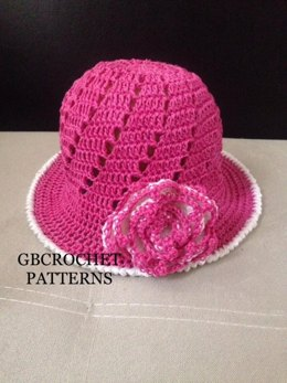 Mom and Child Summer Hat