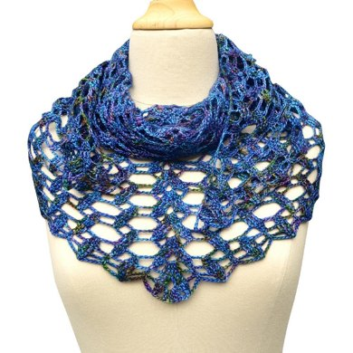 Building blocks up to the sky shawl