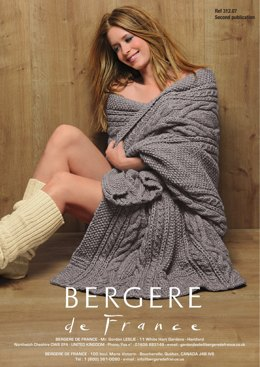 Blanket in Bergere de France Cocoon