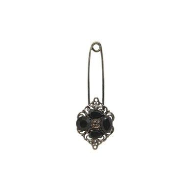 Embellished Shawl Pin 90mm