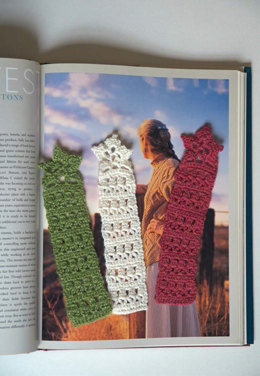 Marietta Bookmarks in Berroco Folio - Downloadable PDF