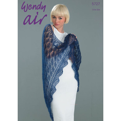 Shawl in Wendy Air - 5727