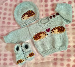 Hedgehog Sweater Set