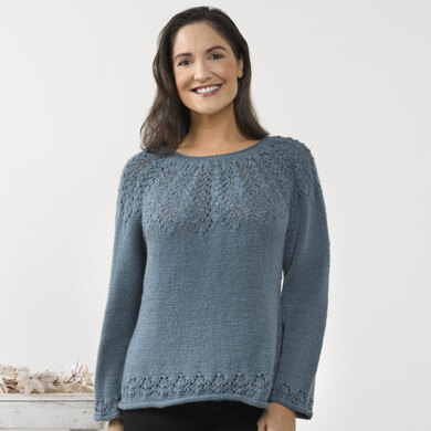 Cumin Sweater in Valley Yarns Haydenville - 940 - Downloadable PDF