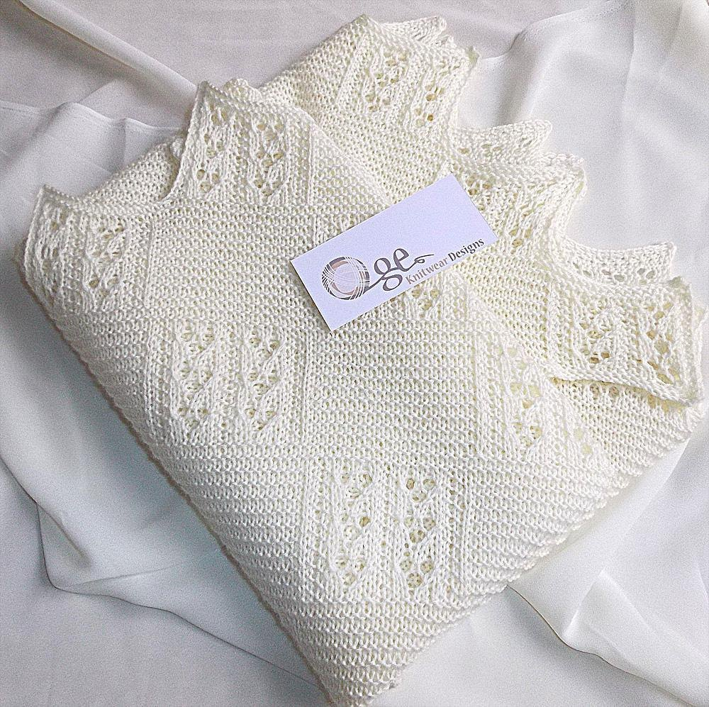 Quick Knit Baby Blanket Knitting Pattern By Oge Knitwear