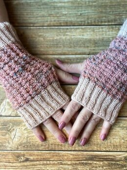 Made for More Fingerless Mitts