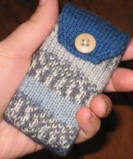 Two-Tone Cell Phone Cozy