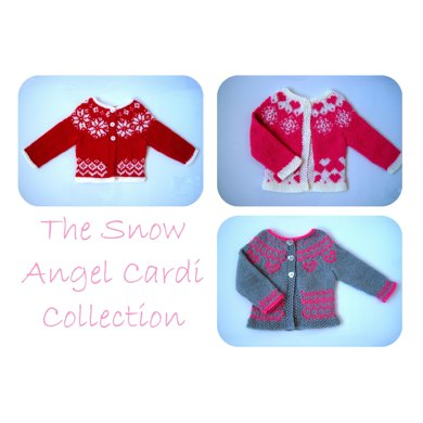 The Snow Angel Cardi Collection