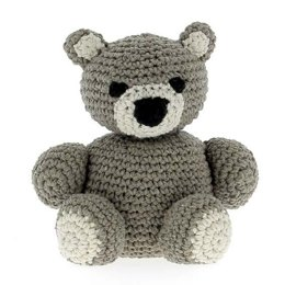 Billie Bear Toy in Hoooked Eco Barbante