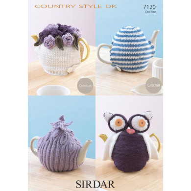 Crochet Tea Cosy In Sirdar Country Style Dk 7120