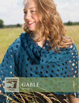 Gable Wrap in Juniper Moon Findley