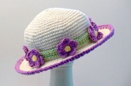 Violet Sun Hat Girls to Ladies Large