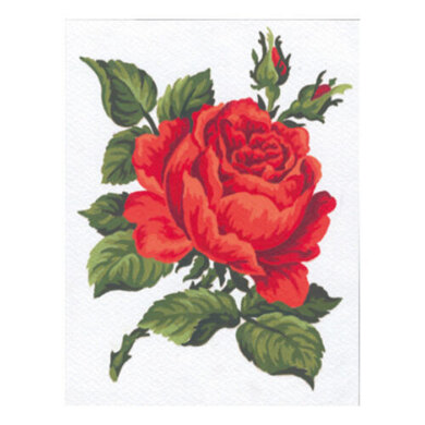 Collection D'Art Red Rose Tapestry Kit - Multi