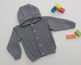 Cable Hoodie