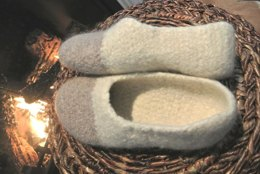 Warmest Wool Felted Slippers