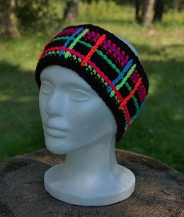 """Perfectly Plaid"" Headwarmer / Ear Warmer"