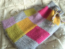 Patches Hot Water Bottle Cover