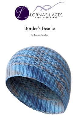 Border's Beanie in Lorna's Laces Shepherd Worsted