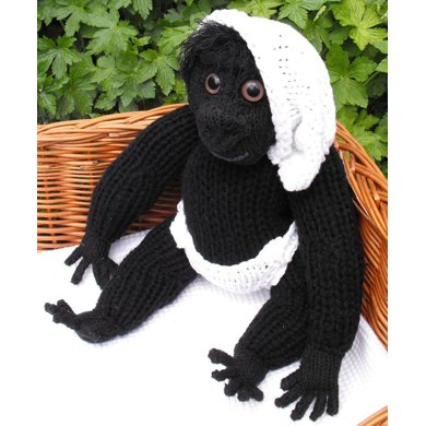 Cilla The Ugly Baby Gorilla Superfast knitting pattern