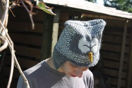Owl Hat With Earflaps