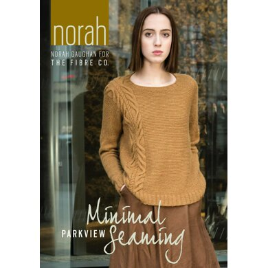 Parkview Sweater by Norah Gaughan in The Fibre Co. Knightsbridge - Downloadable PDF